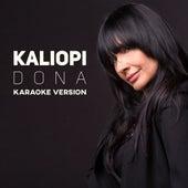 Dona  - Karaoke Version by Kaliopi