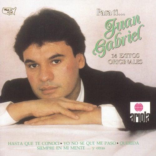 Para Ti - 14 Exitos Originales by Juan Gabriel