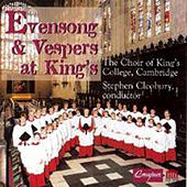 Evensong and Vespers At King's by Various Artists