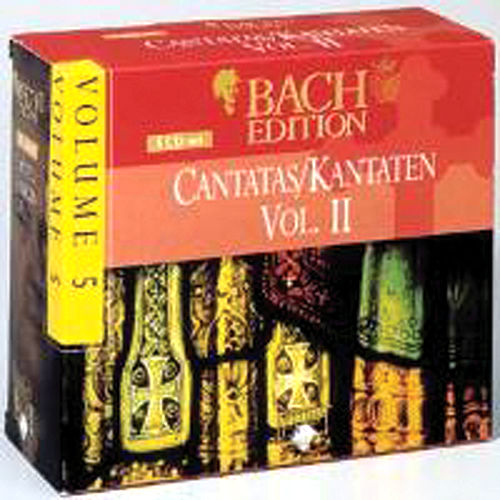 Bach Edition Vol. 5, Cantatas Vol. II  Part: 5 by Various Artists