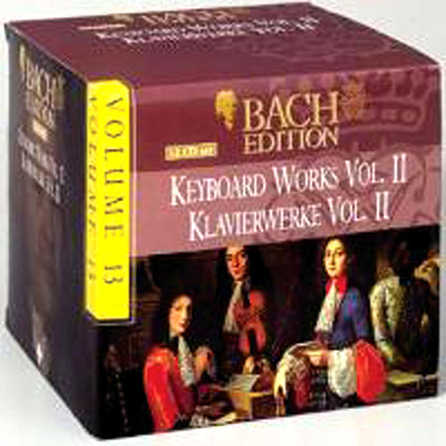 Bach Edition Vol. 13, Keyboard Works Vol. II  Part: 1 by Arts Music Recording Rotterdam