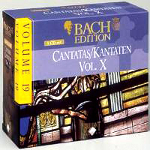 Bach Edition Vol. 19, Cantatas Vol. X Part: 2 by Various Artists