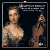 Telemann: Trios pour le dessus de viole by Hamburger Ratsmusik