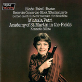 Recorder Concertos By Handel, Babell & Baston / Jacob: Suite For Recorder & Strings by Kenneth Sillito