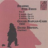 Brahms: Five Trios, Volume II by Golub Kaplan Carr Trio