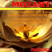 Mozart: Concerto No.4 For Violin And Orchestra,Concerto No.2 For Flute And Orchestra by Various Artists