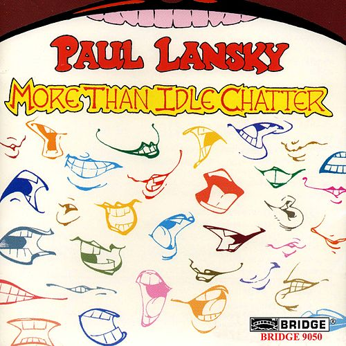 LANSKY: Idle Chatter / Word Color / Memory Pages by Various Artists