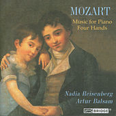 MOZART: Music for Piano Four Hands by Artur Balsam
