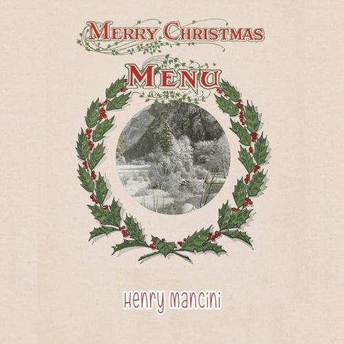 Merry Chirstmas Menü von Henry Mancini