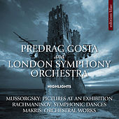 Mussorgsky, Rachmaninoff & Makris: Orchestral Works by London Symphony Orchestra