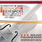 Tchaikovsky: Serenade For Strings / Elgar: Introduction & Allegro / Wolf: Italian Serenade / Barber: Adagio von Semyon Bychkov