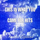 This Is What You Came for Hits 2016 by Andres Espinosa