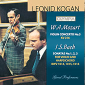 Mozart: Violin Concerto No. 3 / Bach: Sonata BWV 1014, 1015 & 1016 by Various Artists