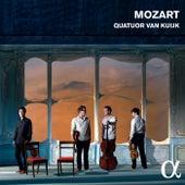 Mozart: String Quartets Nos. 16 and 19 & Divertimento, K. 136 by Quatuor Van Kuijk