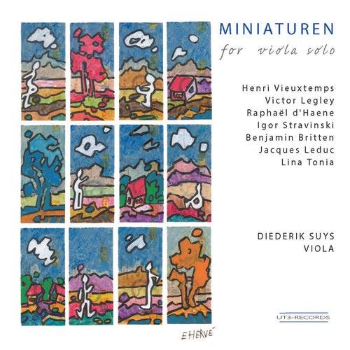 Miniaturen for Viola Solo by Diederik Suys