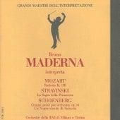 Grandi maestri dell'interpretazione: Bruno Maderna interpreta Mozart, Stravinsky & Schoenberg by Milan RAI Symphony Orchestra