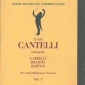 Grandi maestri dell'interpretazione: Guido Cantelli interpreta Gabrieli, Brahms and Bartok by New York Philharmonic