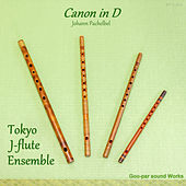 Canon in D Major, P. 37 (Shinobue Version) by Tokyo J-flute Ensemble