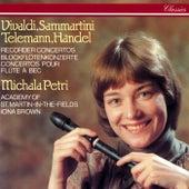 Recorder Concertos By Vivaldi, Sammartini, Telemann & Handel by Iona Brown