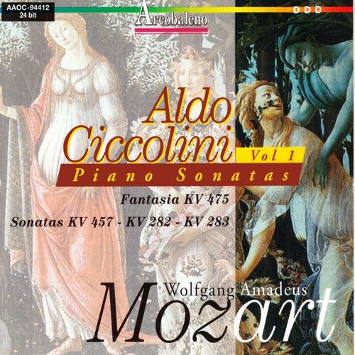 Wolfgang Amadeus Mozart: Piano Sonatas by Aldo Ciccolini