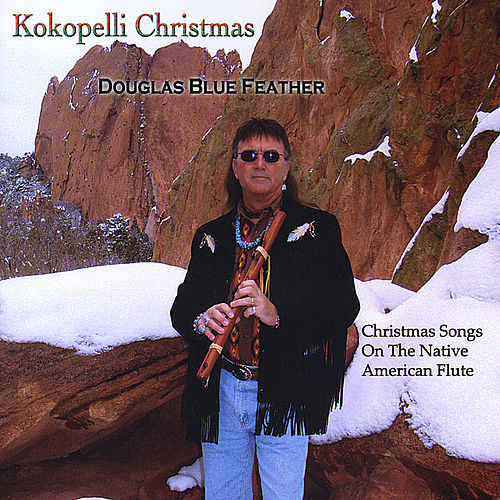 Kokopelli Christmas by Douglas Blue Feather