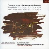 Mozart: Clarinet Quintet, K. 581 & Clarinet Concerto, K. 622 by Jean-Claude Veilhan