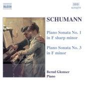 Piano Sonatas Nos. 1 and 3 by Robert Schumann