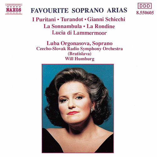 Favourite Soprano Arias by Various Artists