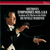Beethoven: Symphonies Nos. 5 & 8 by Sir Neville Marriner