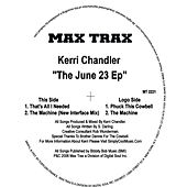 The June 23 EP by Kerri Chandler