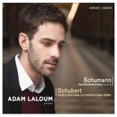 Schumann: Davidsbündlertänze, Op. 6 - Schubert: Sonate pour piano en Si-Bémol Majeur, D. 960 by Adam Laloum