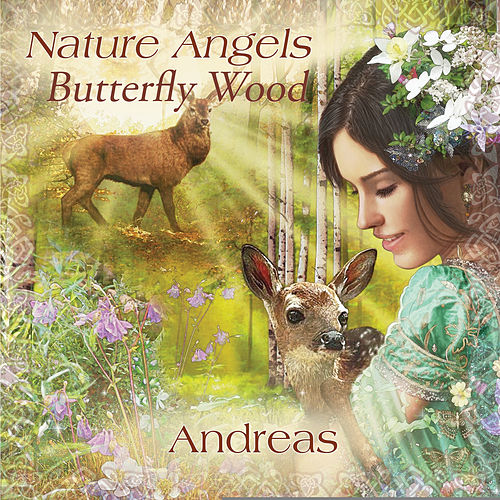 Nature Angels - Butterfly Wood by Andreas