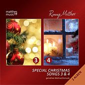 Special Christmas Songs, Vol. 3 & 4 (Doppelalbum) - Gemafreie Weihnachtsmusik [Deutsche & Englische Weihnachtslieder] by Various Artists