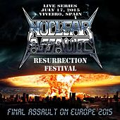Live in Viveiro, Spain by Nuclear Assault