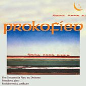 Prokofiev: 5 Concertos for Piano and Orchestra by Viktoria Postnikova