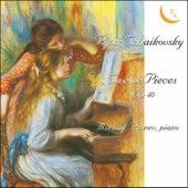 Pyotr Tchaikovsky. Twelve Pieces for Piano, Op. 40/Romance, Op. 5/Waltz-Scherzo, Op. 7/Capriccio, Op. 8 by Mikhail Pletnev