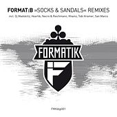 Restless Remixes Session Socks & Sandals by Format B