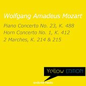 Yellow Edition - Mozart: Piano Concerto No. 23, K. 488 & Horn Concerto No. 1, K. 412 by Various Artists