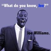 What Do You Know Joe? by Joe Williams
