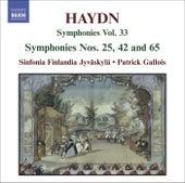 HAYDN, J.: Symphonies, Vol. 33 (Nos. 25, 42, 65) by Patrick Gallois