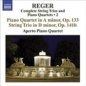 REGER, M: String Trios and Piano Quartets (Complete), Vol. 2 (Aperto Piano Quartet) - Piano Quartet, Op. 133 / String Trio, Op. 141b by Various Artists