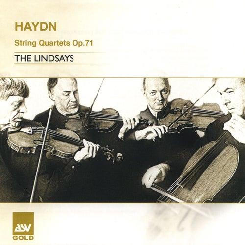 Haydn: String Quartets Op.71 by The Lindsays