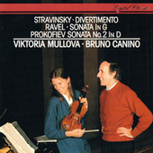 Ravel: Violin Sonata / Prokofiev: Violin Sonata No. 2 / Stravinsky: Divertimento von Bruno Canino
