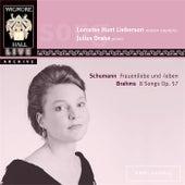 Schumann: Frauenliebe und-leben / Brahms: 8 Songs Op. 57 by Various Artists