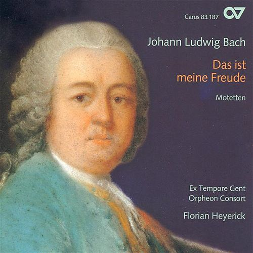 Bach, J.L.: Motets (Ex Tempore Gent, Heyerick) by Various Artists