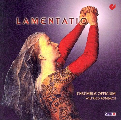 YCART, B.: Lamentations / ISAAC, H.: Proper cycle de sancta cruce / JOSQUIN DES PREZ: Miserere mei Deus secundum (Officium Ensemble) by Wilfried Rombach