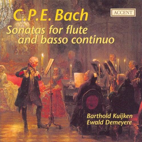 BACH, C.P.E.: Flute Sonatas (Kuijken) by Barthold Kuijken