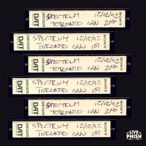 PHISH: 12/12/92 The Spectrum, Toronto, ON (Live) by Phish