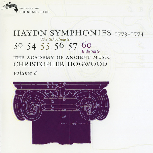 Haydn: Symphonies Vol. 8 by The Academy Of Ancient Music