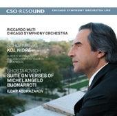 Schoenberg: Kol Nidre - Shostakovich: Suite on Verses of Michelangelo Buonarroti by Riccardo Muti